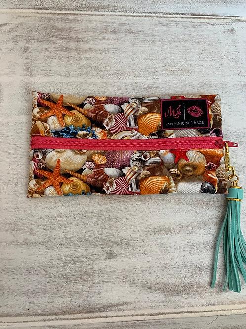 Makeup Junkie Bags Turnkey Drop Seashells Mini