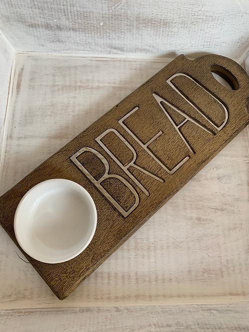 Mud Pie Bistro Bread Board
