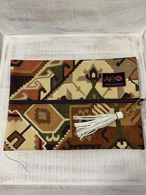 Makeup Junkie Bags Phoenix Tan Medium
