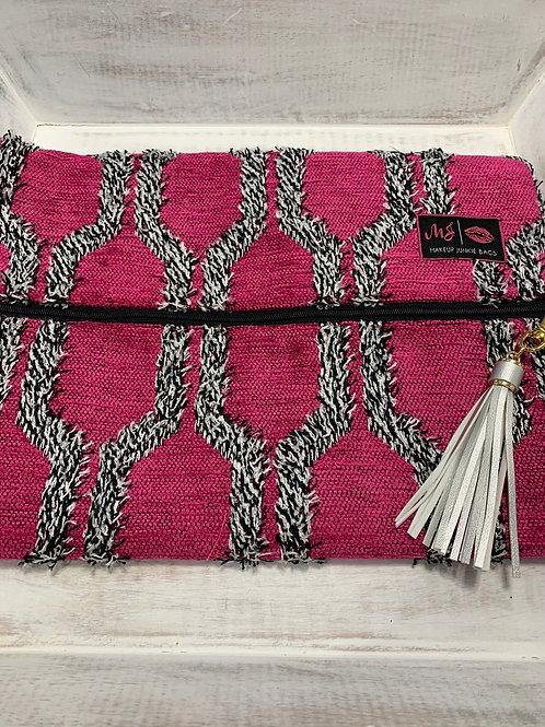 Makeup Junkie Bags Pink Shag Large