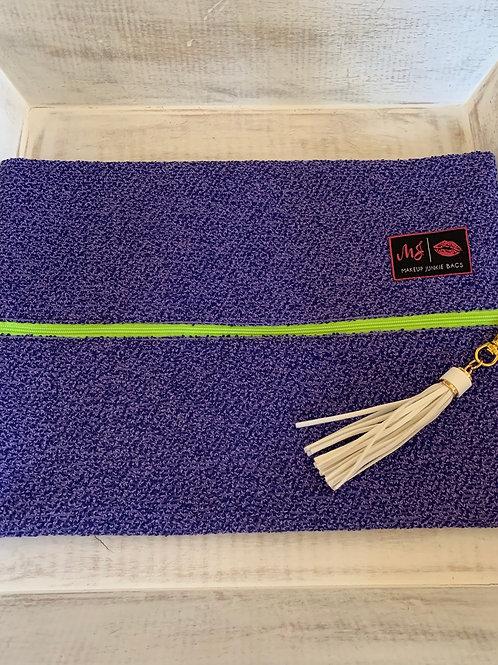 Makeup Junkie Bags Destash Shaggy Lilac Large