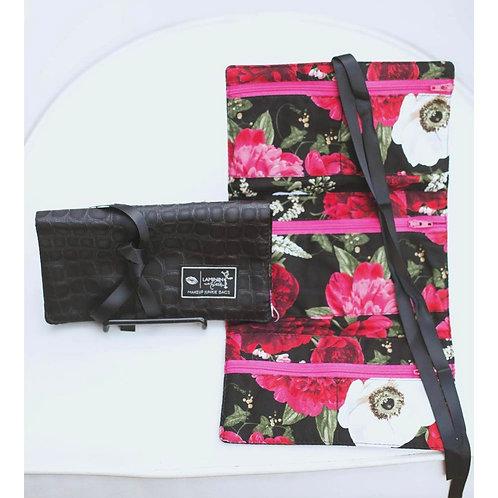 Makeup Junkie Bags Bayou Black Jewelry Bag