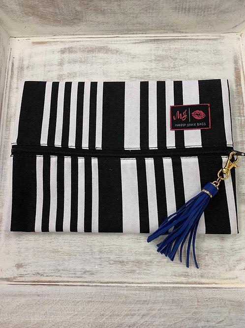 Makeup Junkie Bags Asymmetrical Stripe Medium