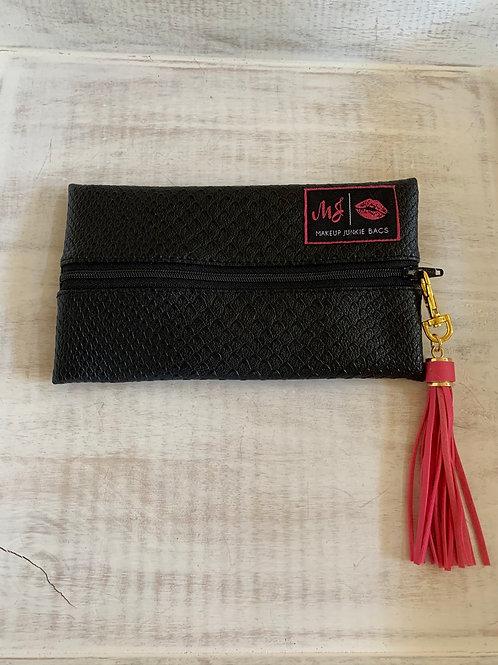 Makeup Junkie Bags Black Cobra Mini