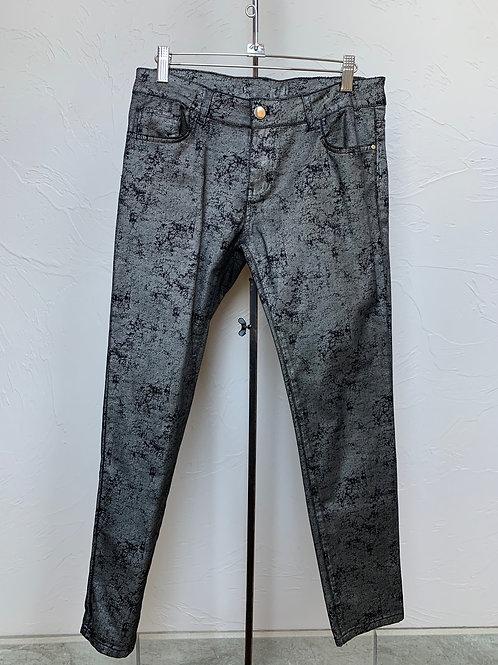 Elloquent Black Crackle Jeans