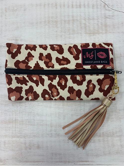 Makeup Junkie Bags Red Cheetah Mini