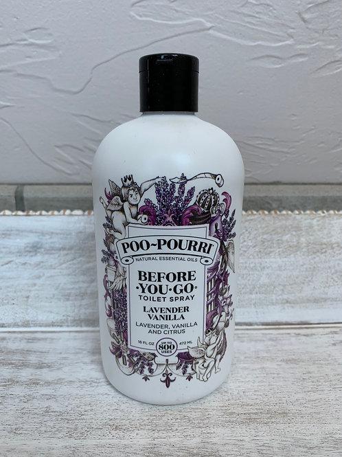 Poopourri Lavender Vanilla 16 oz