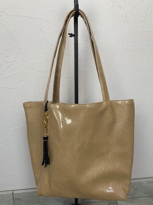 Makeup Junkie Bags Champagne Glitter Daykeeper