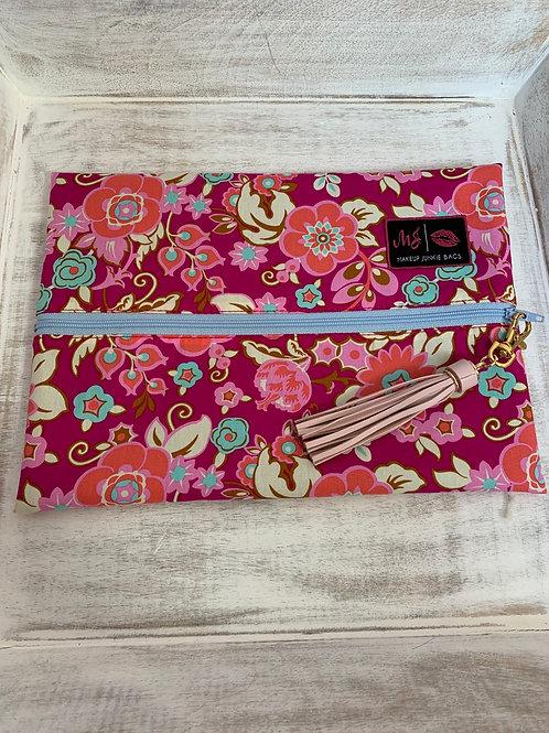 Makeup Junkie Bags Turnkey Bright Floral Medium