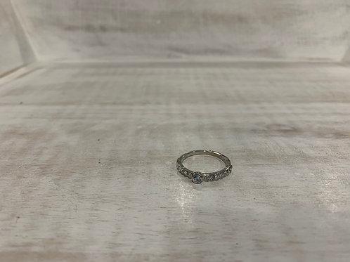 Lauren Michael Crystal Band Ring