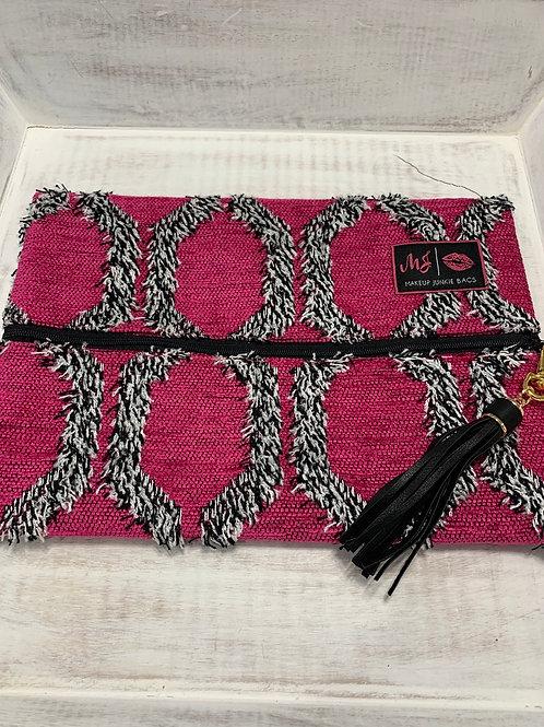 Makeup Junkie Bags Pink Shag Medium