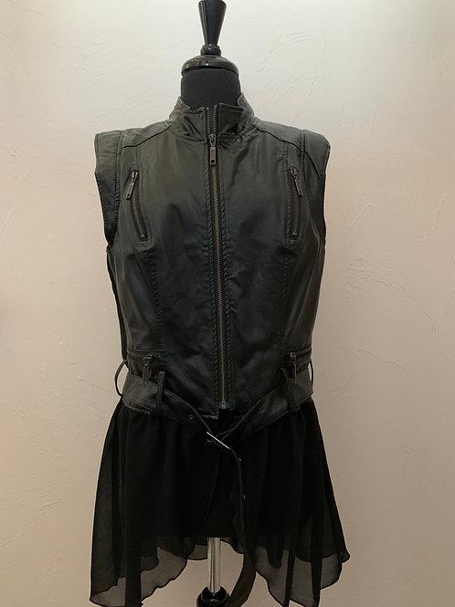 Tricotto Leather Vest