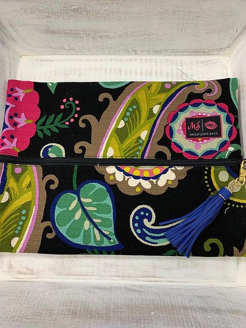 Makeup Junkie Bags Paisley Floral Large