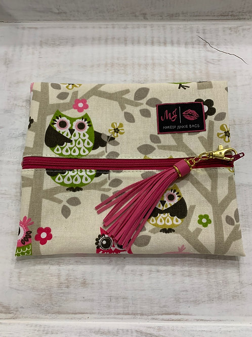 Makeup Junkie Bags Owl Always Love You Small