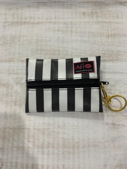 Makeup Junkie Bags Glam Stripe Micro