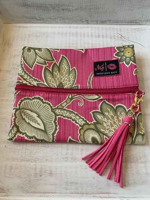 Makeup Junkie Bags Destash Olive You Pink Small