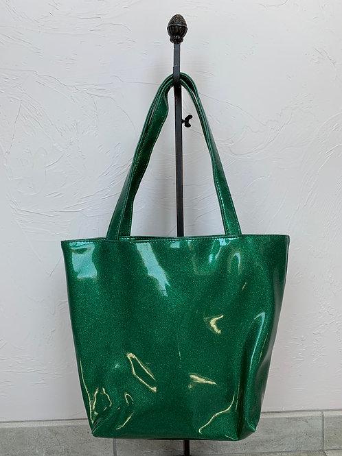 Makeup Junkie Bags Emerald Glitter Daykeeper