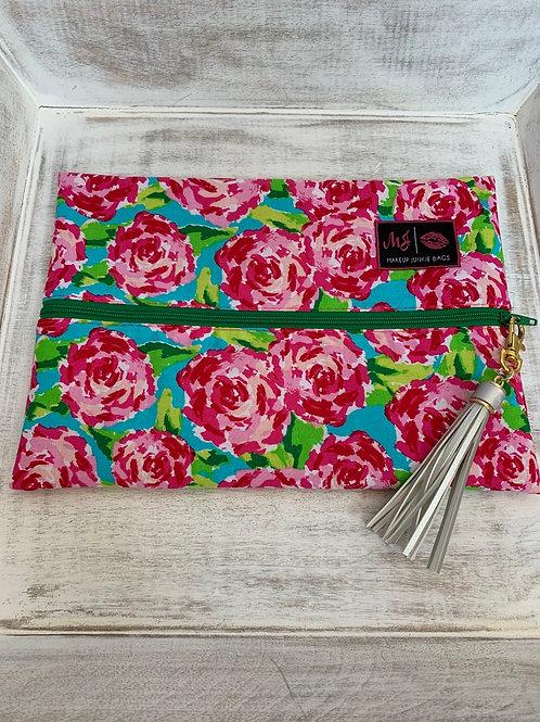 Makeup Junkie Bags Destash Pink Roses Medium