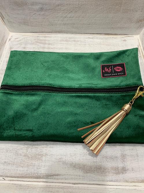 Makeup Junkie Bags Emerald Medium