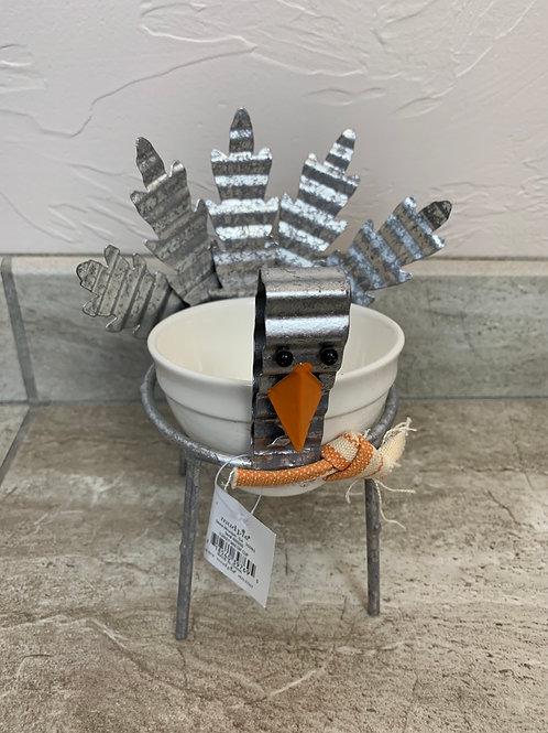 Mud Pie Turkey Mini Dip Cup