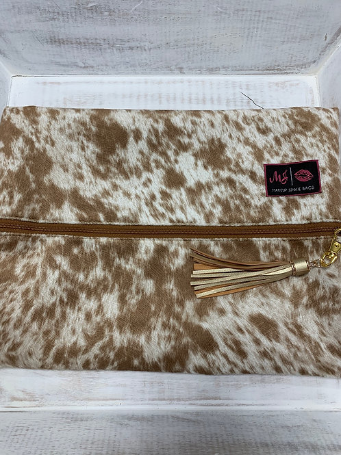 Makeup Junkie Bags Lola Tan Large