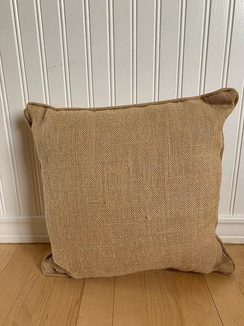 Mud Pie Grainsack Canvas Pillow