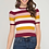 Thumbnail: She and Sky Multi Color Stripe Sweater