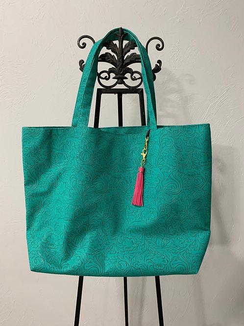 Makeup Junkie Bags Turquoise Dream Weekender
