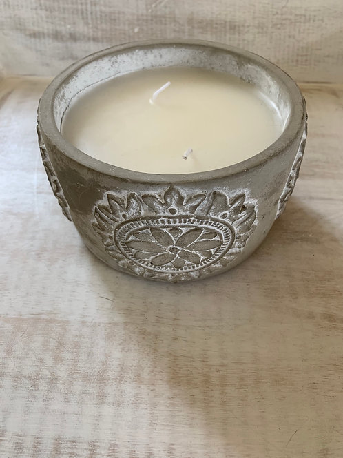 Mud Pie Citronella Candle
