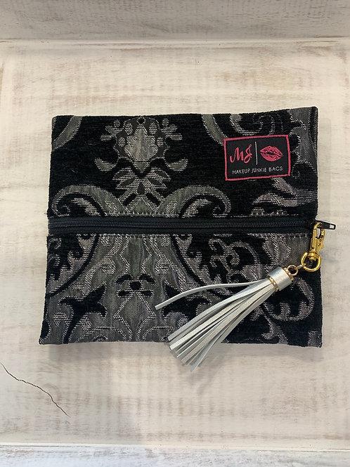 Makeup Junkie Bags Elegant Silver Small