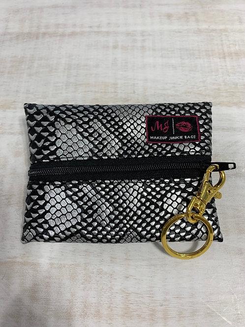 Makeup Junkie Bags Gunmetal Micro