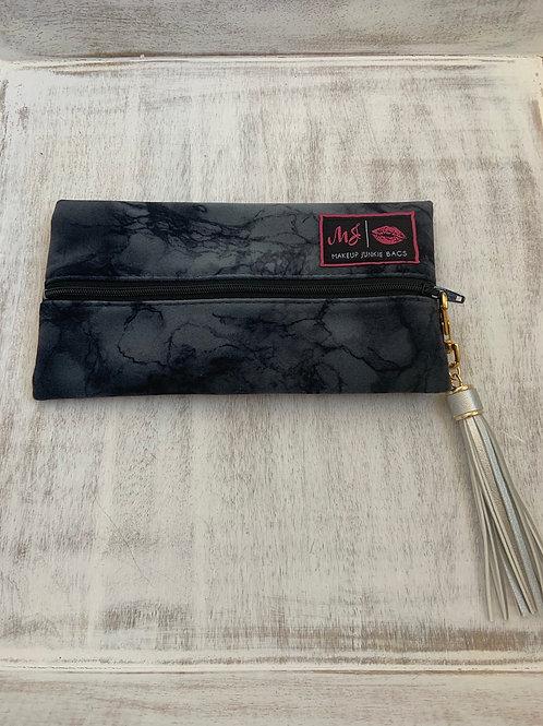 Makeup Junkie Bags Destash Charcoal Marble Mini
