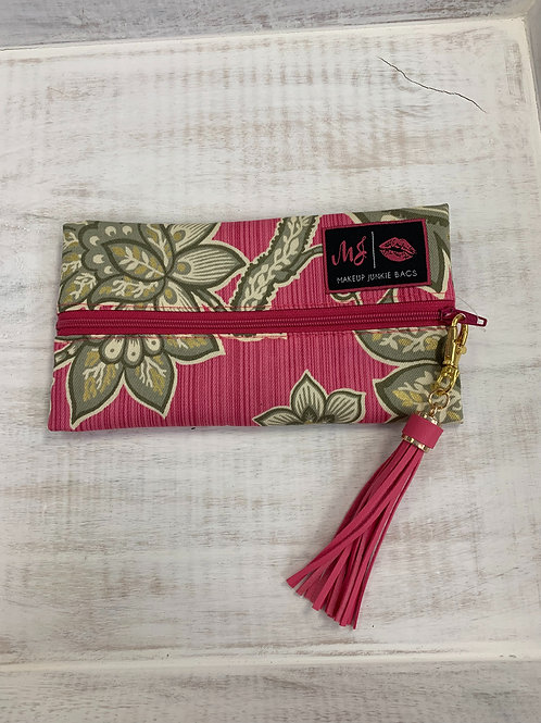 Makeup Junkie Bags Olive You Pink Mini