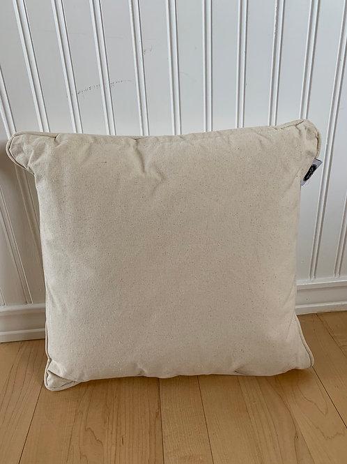 Mud Pie Canvas Pillow