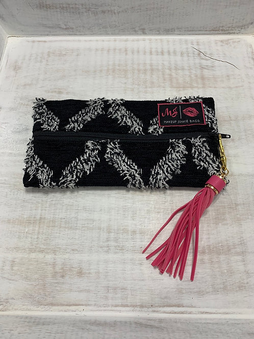 Makeup Junkie Bags Black Shag Mini