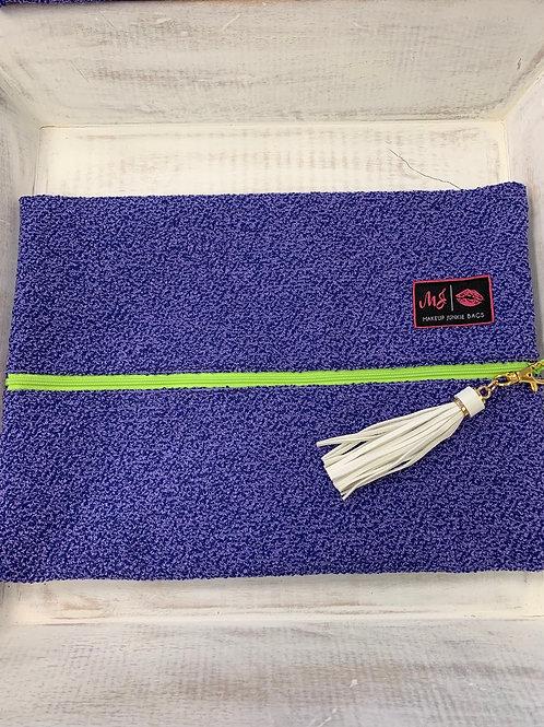Makeup Junkie Bags Shaggy Lilac Large