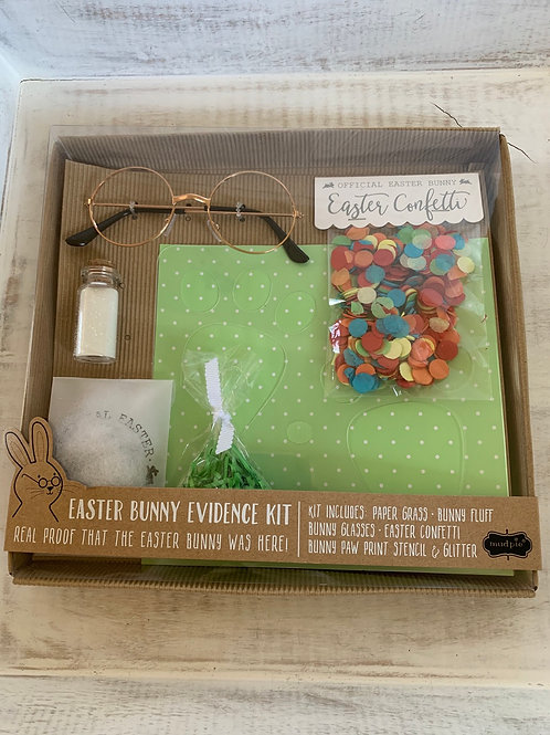 Mud Pie Easter Bunny Evidence Kit