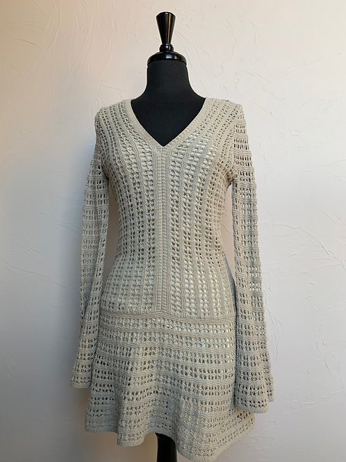 Union of Angels Knit Dress Taupe