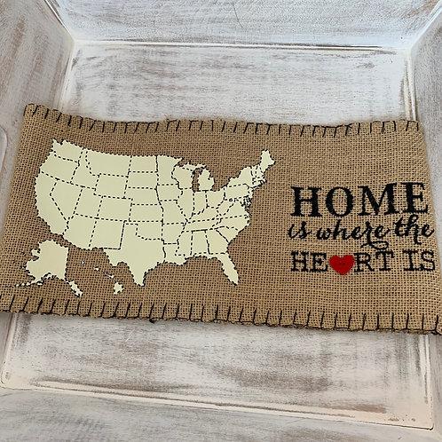 Mud Pie Home Pillow Wrap