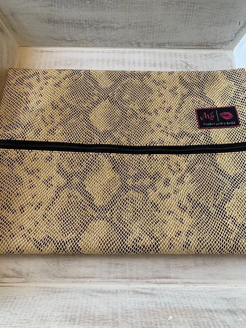 Makeup Junkie Bags Destash White Snake Large