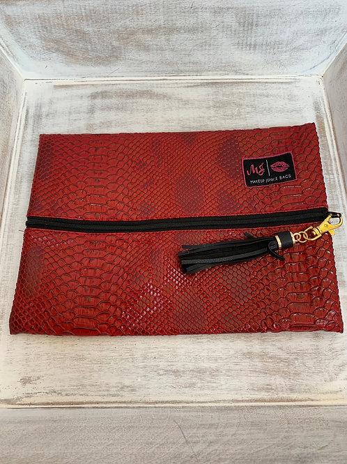 Makeup Junkie Bags Destash Crimson Cobra Medium
