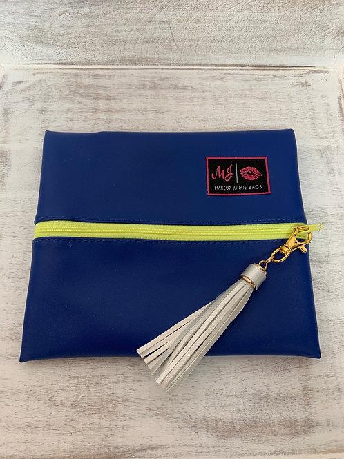 Makeup Junkie Bags Destash Electric Blue Small
