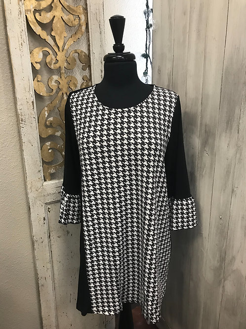Sassybling Houndstooth Dress