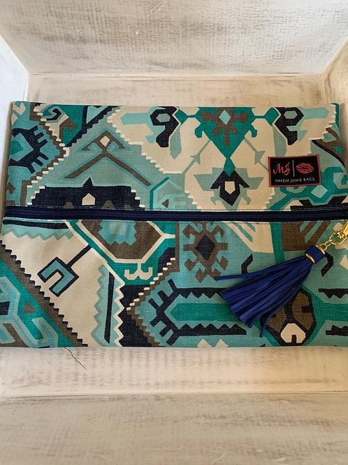 Makeup Junkie Bags Destash Phoenix Blue Large