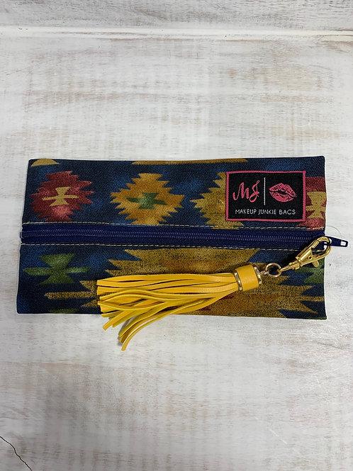 Makeup Junkie Bags Santa Fe Aztec Mini