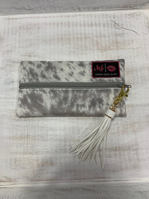 Makeup Junkie Bags Lola Gray Mini