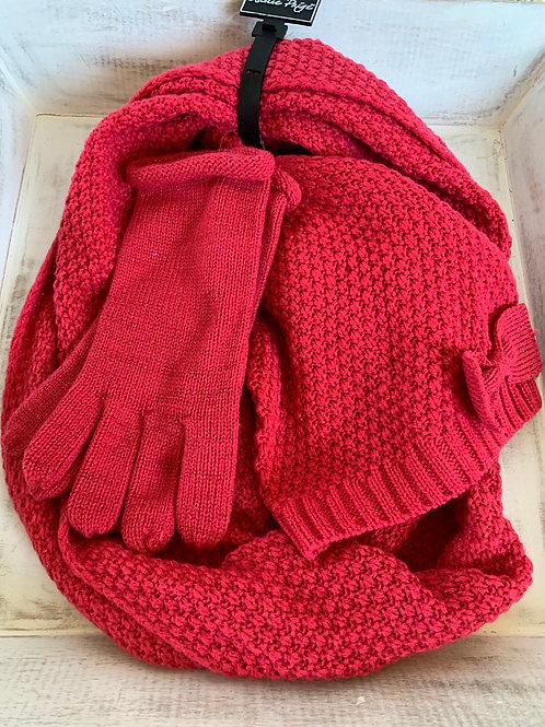 Charlie Paige Scarf, Hat and Gloves Set