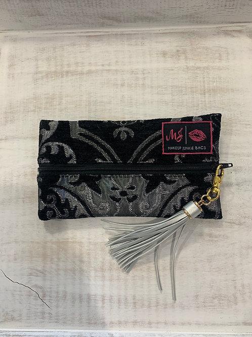 Makeup Junkie Bags Elegant Silver Mini