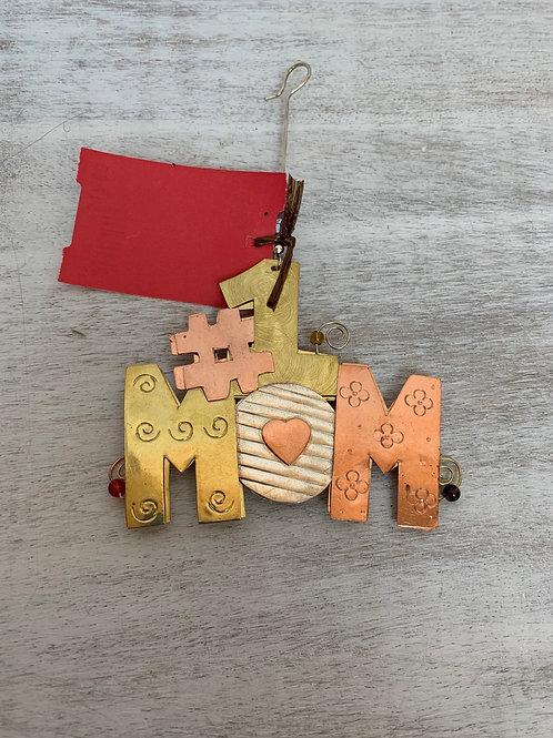 ASW #1 Mom Ornament