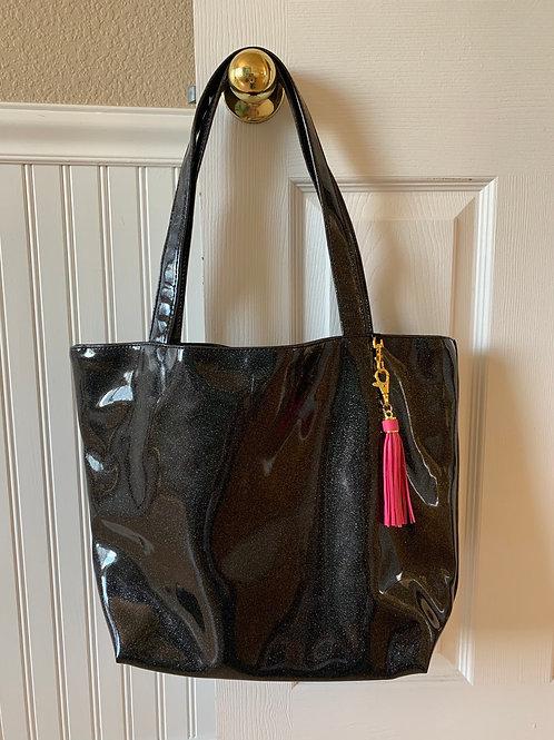 Makeup Junkie Bags Glitter Onyx Daykeeper